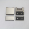 Stainless Steel Glass Door Hinge 180 Degree Glass to Glass Flat