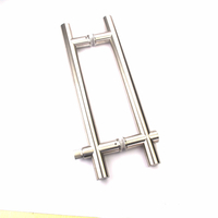 H Style Shape Stainless Steel 304 Glass Door Lock Handles