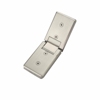 180 Degree Brass Shower Hinge Stainless Steel Glass Clamp